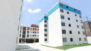Entrega de 170 viviendas en Matamoros No. 110  y Calzada San Simón No. 310