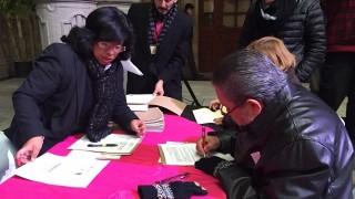 Entrega de 179 cheques en apoyo a la reparación de viviendas