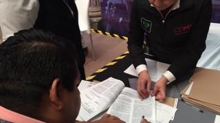 Entrega de 200 créditos CERV y acciones realizadas ante el sismo del 19S